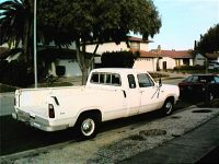 1973 - Dodge D200 Clubcab Custom Mike Deemer White