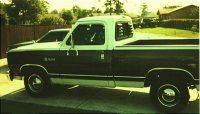 1988 - Dodge D100 Joe Taylor