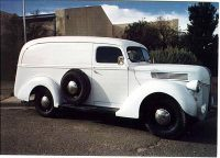 1941 Ford Panel Van Bill Taylor