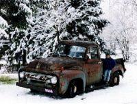 1954 - Ford F100 Abe Stauffer