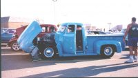 1954 - Ford F100 Linda and Larry Nitz
