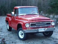 1967- IHC 1100B 4x4 Tony Jeffs